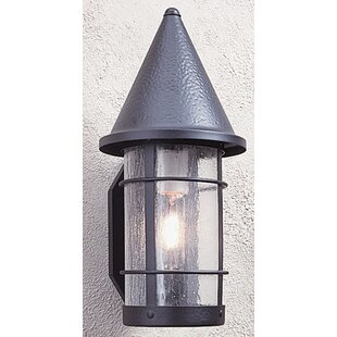 Arroyo Craftsman Valencia 1-Light Outdoor Wall Lantern
