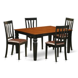 Arata 5 Piece Dining Set DarHome Co