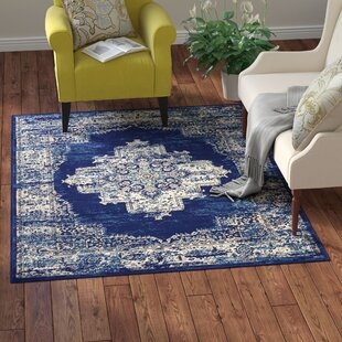 Best Deals Susan Blue Area Rug Charlton Home