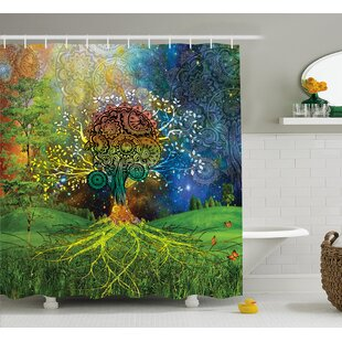 Appleton Mother Earth Zen Decor Single Shower Curtain