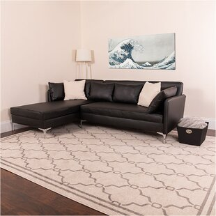 Dumont Leather Modular Sectional