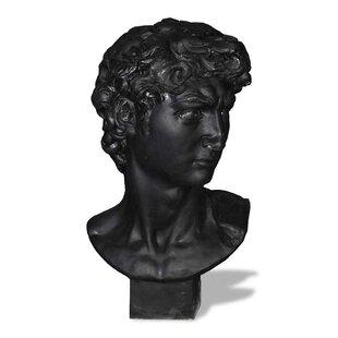 Amedeo Design ResinStone David Bust Statue
