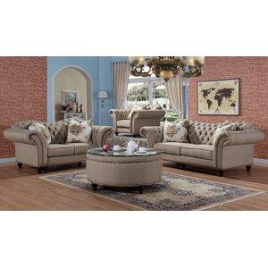 Rohan 2 Piece Living Room Set