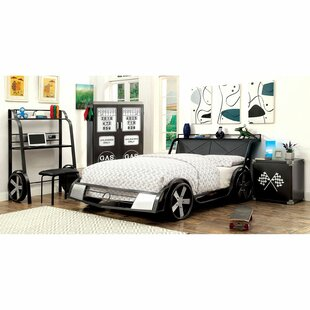 Bromborough Car Bed with Bookcase