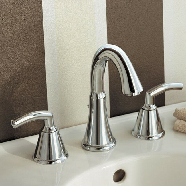 American Standard Tropic Widespread Bathroom Faucet with Drain ...