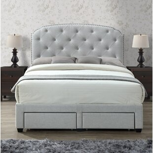Rosdorf Park Darcie Upholstered Storage Panel Bed