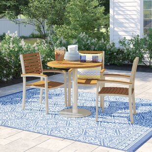Caspian 8 Piece Teak Dining Set by Sol 72 Outdoor