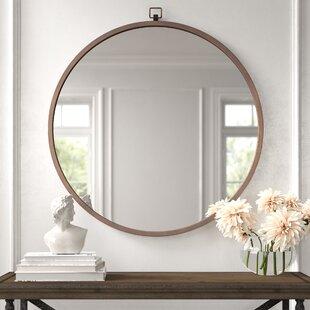 Silver Hammered Mirror Wayfair