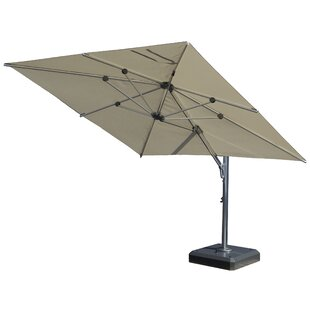 9' Square Cantilever Umbrella by Infinita Corporation