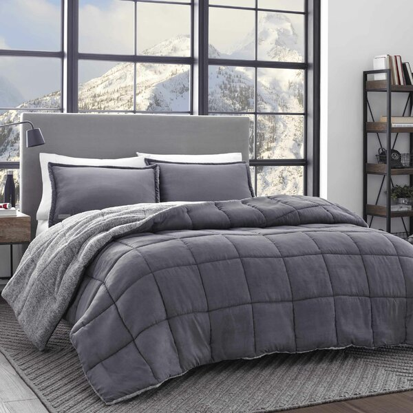 Heathered Jersey Comforter Wayfair