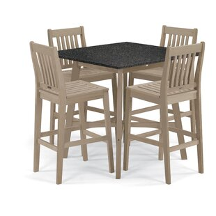 Delvalle 5 Piece Dining Set
