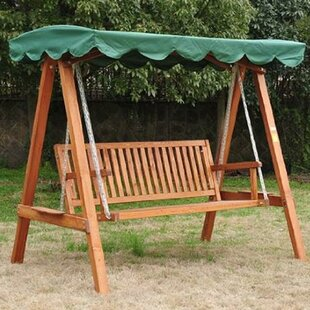 Porch Swing With Stand Image