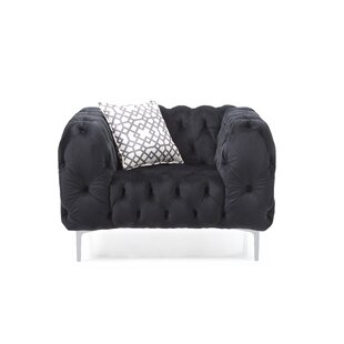 Everly Quinn Verena Chesterfield Chair