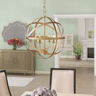 Willa Arlo Interiors Dian 4-Light Globe C..
