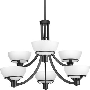 Ebern Designs Mcdavid 6-Light Shaded Chandelier