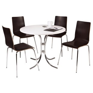 Tackett Dining Table And 4 Chairs By Mercury Row