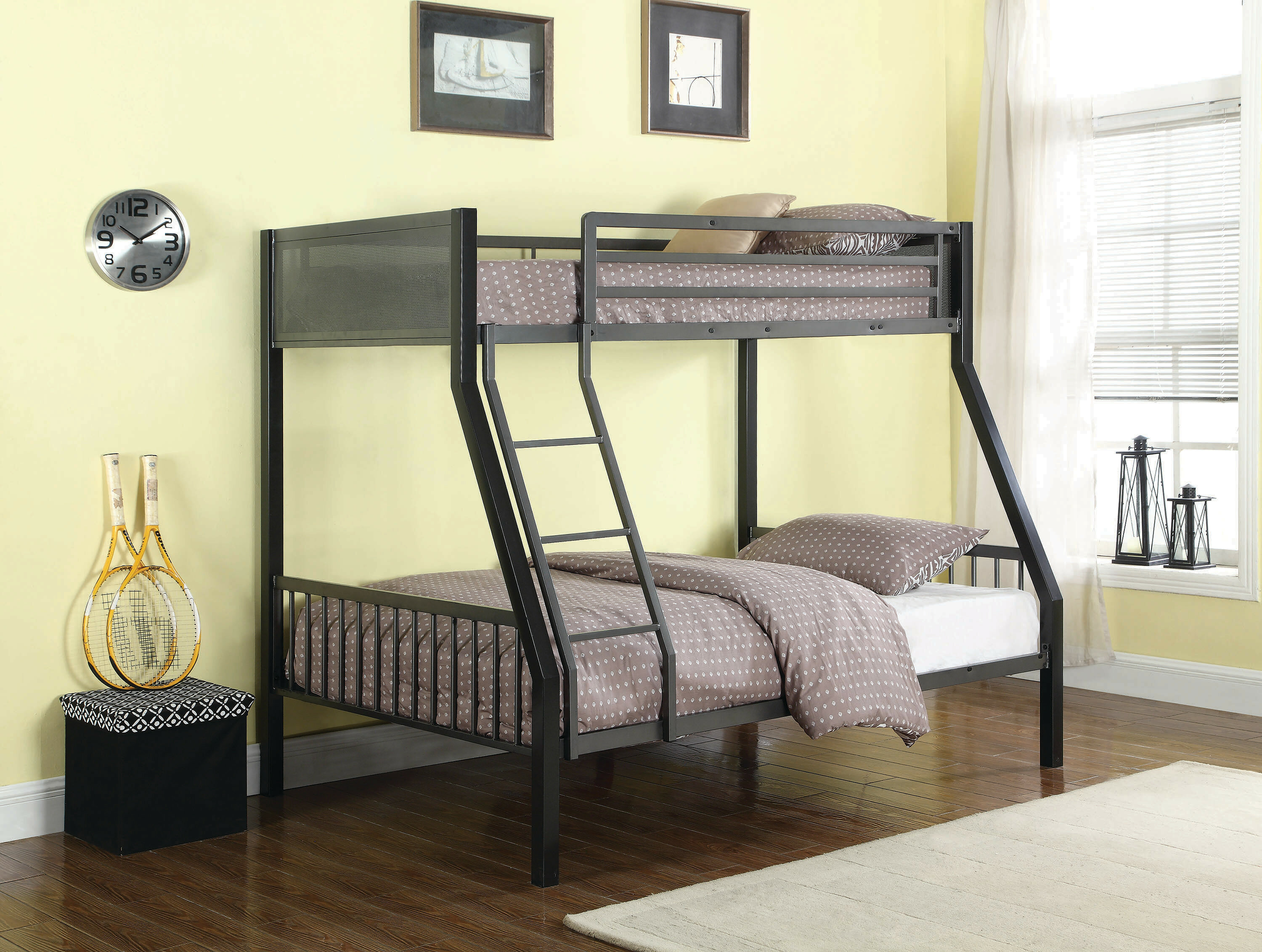 Image result for coaster twin over full bunk bed