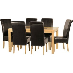 Wexford Dining Set With 6 Chairs By Gracie Oaks