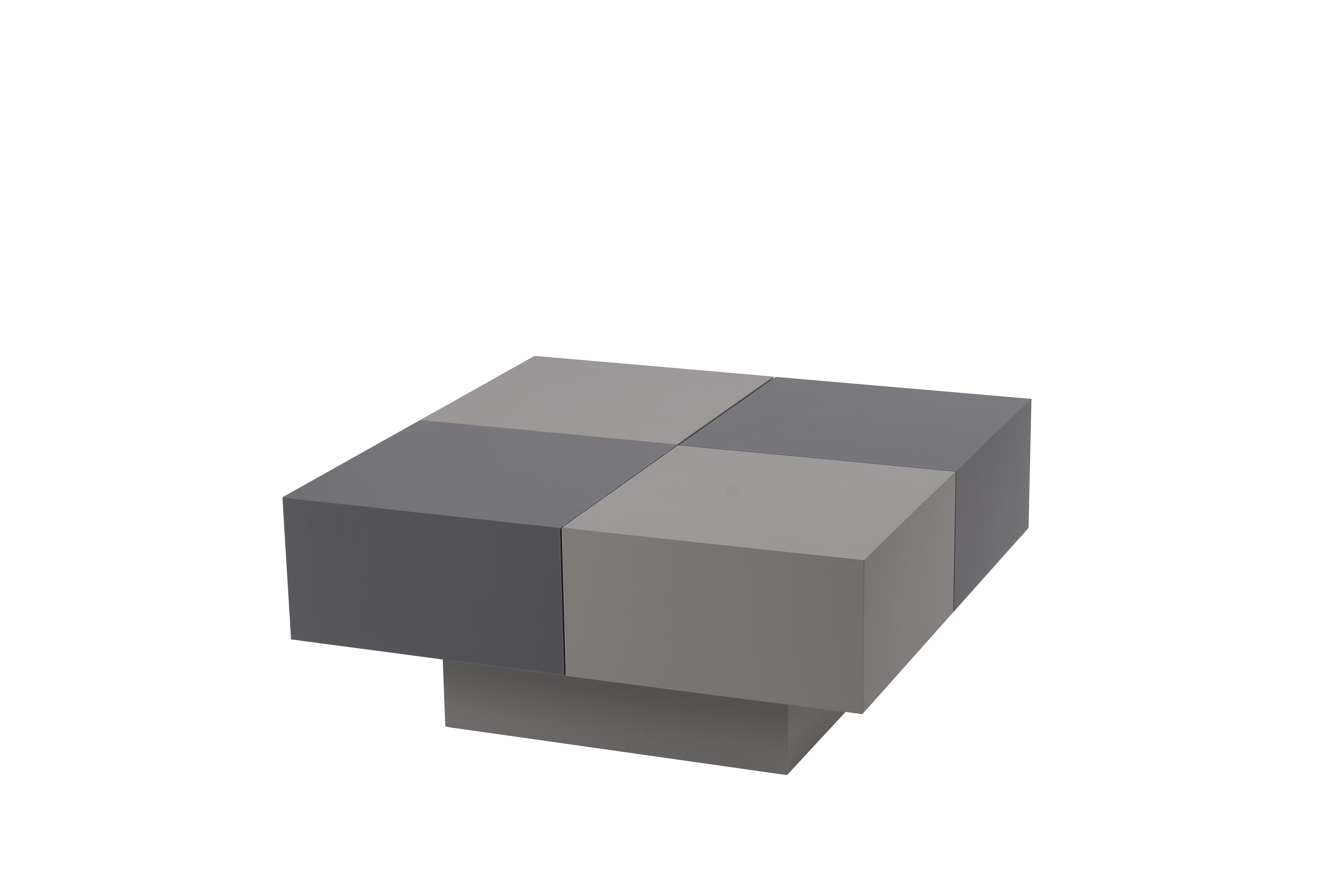 Pickrell Two Tone Lacquer Coffee Table