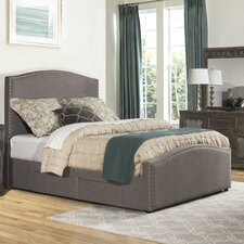 Harleigh Adjustable Storage Upholstered Panel Bed by Darby Home Co