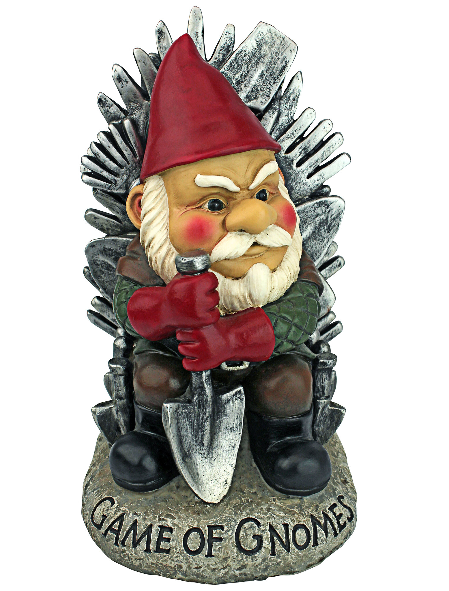 Game of Gnomes Garden Statue