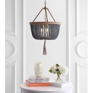 Lipsey 3-Light Empire Chandelier by Bungalow Rose