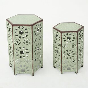 Crepeau 2 Piece End Table