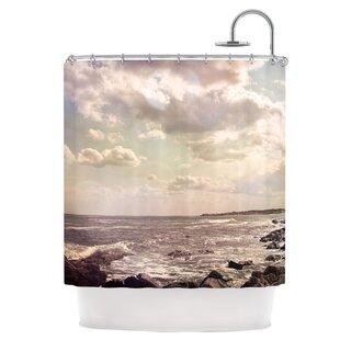 Rocky Coast Single Shower Curtain