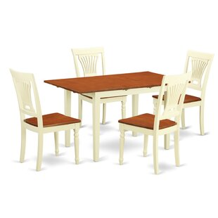 Norfolk 5 Piece Dining Set by Wooden Importers Coupon