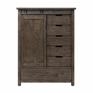 Bartow 6 Drawer Combo Chest