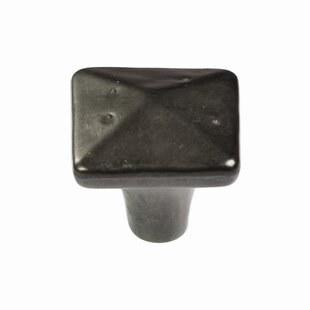 Carbonite Square Knob