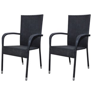Stackable Garden Chair Set (Set of 2) by Home Etc