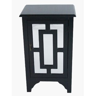 Leatherhead 1 Door Accent Cabinet by Highland Dunes