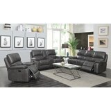Neace 3 Piece Reclining Living Room Set by Red Barrel Studio®