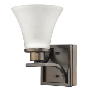 Vanhook 1-Light Bath Sconce by Winston Porter