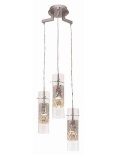 Garrow 3-Light Pendant by Brayden Studio