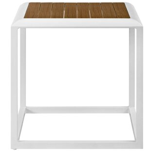 Rossville Outdoor Aluminum Side Table by Ivy Bronx Wonderful
