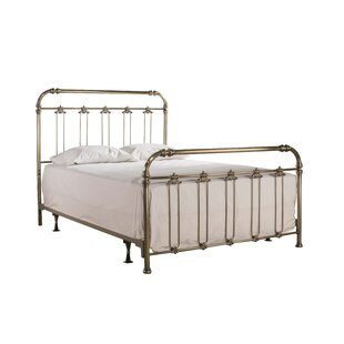 One Allium Way Despagne Soft Gold Headboard and Footboard