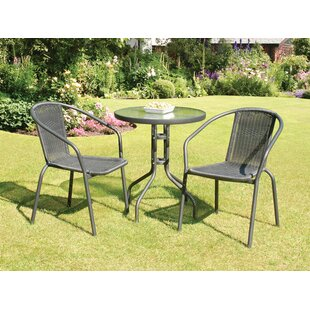 Red Barrel Studio Overshores 3 Piece Dining Set