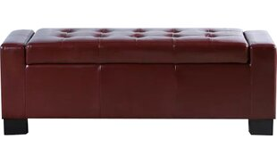 Old York Leather Storage Bench by Red Barrel Studio