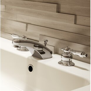Symmons Symmetrix Widespread Bathroom Faucet with Drain Assembly