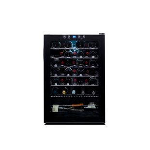48 Bottle Single Zone Freestanding Wine Cooler