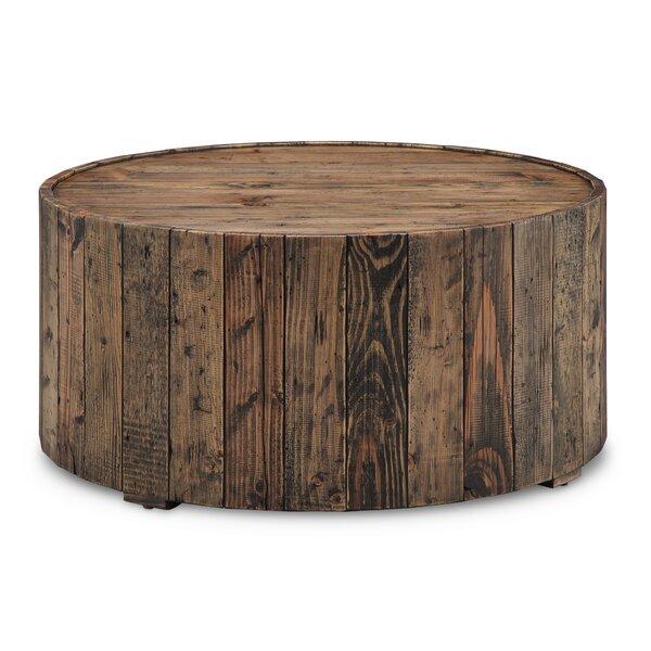 Loon Peak Antonio Round Coffee Table U0026 Reviews   Wayfair