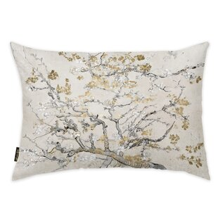 Oakledge Van Gogh in Blossoms Inspiration Light Throw Pillow