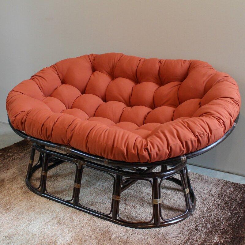 Pampasan Chair blazing needles oversize double papasan chair cushion & reviews