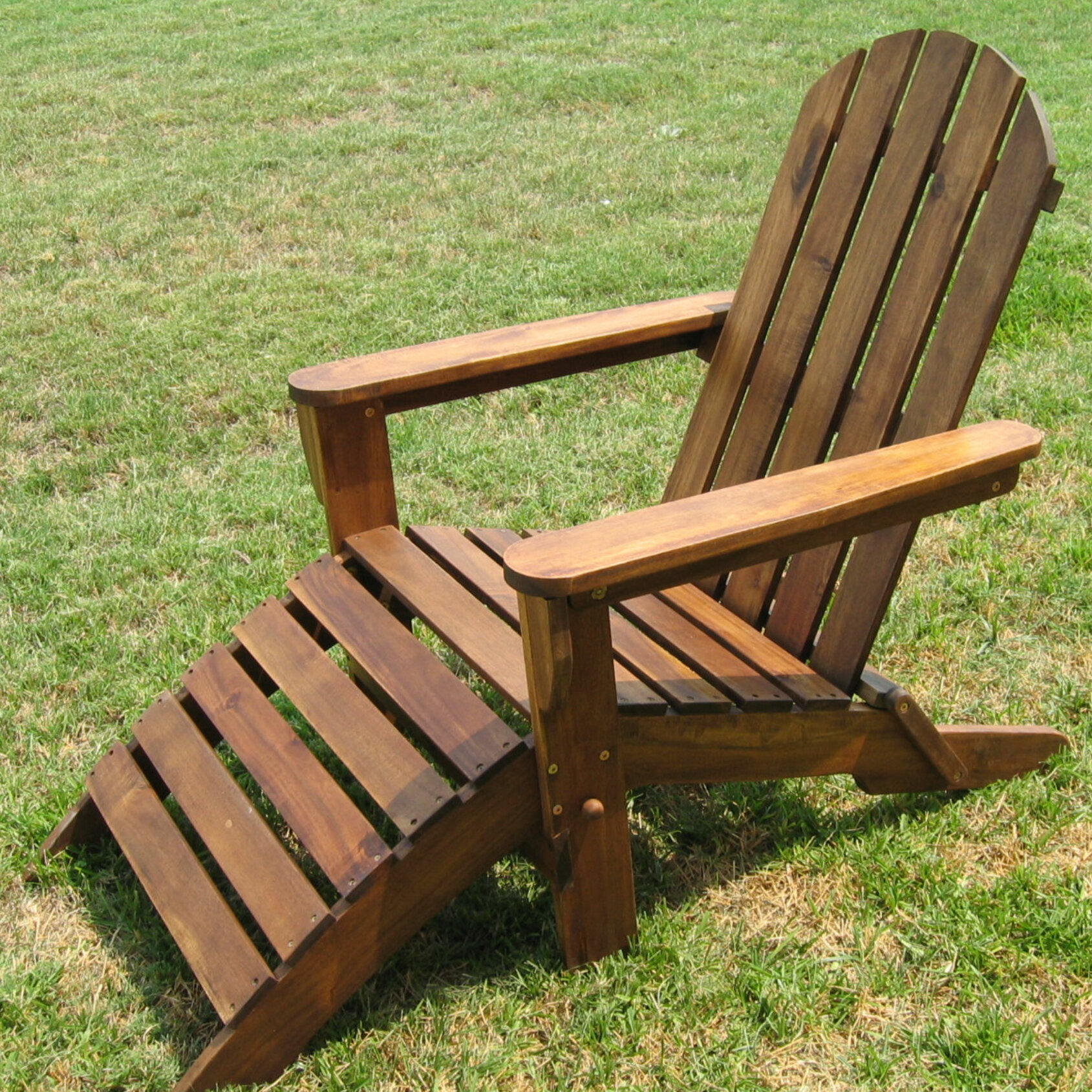 Cool Adirondack Chair With Ottoman Gmtry Best Dining Table And Chair Ideas Images Gmtryco