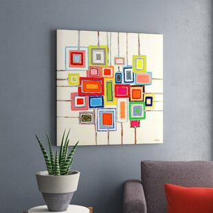 \'Lollipops\' by Andrew Daniel - Wrapped Canvas Print