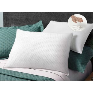 Luxor Linens Giovanni Memory Foam Standard Pillow (Set of 2)