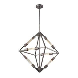 Brayden Studio Dunleavy 6-Light Geometric Chandelier