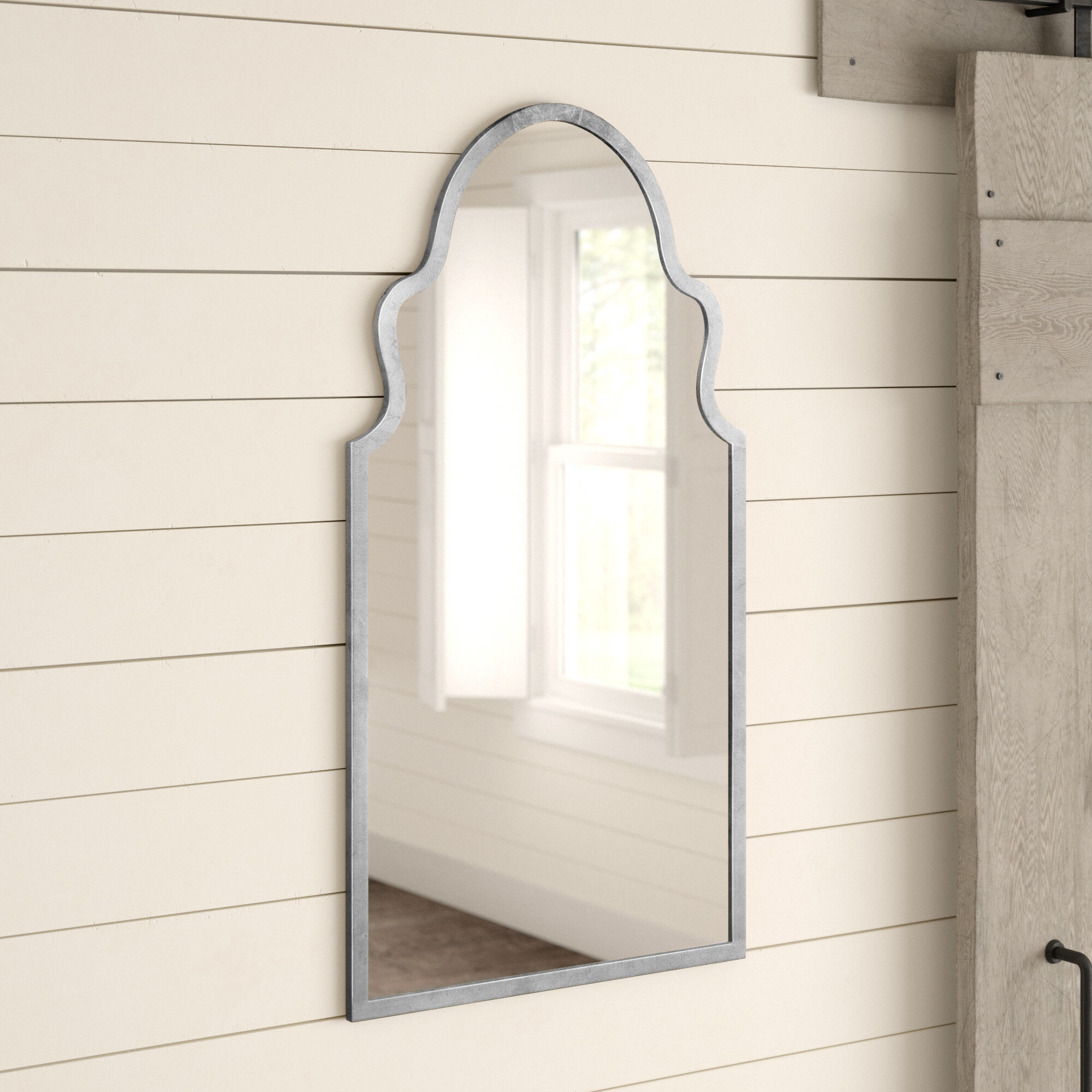 Silver Mirrors You Ll Love In 2021 Wayfair